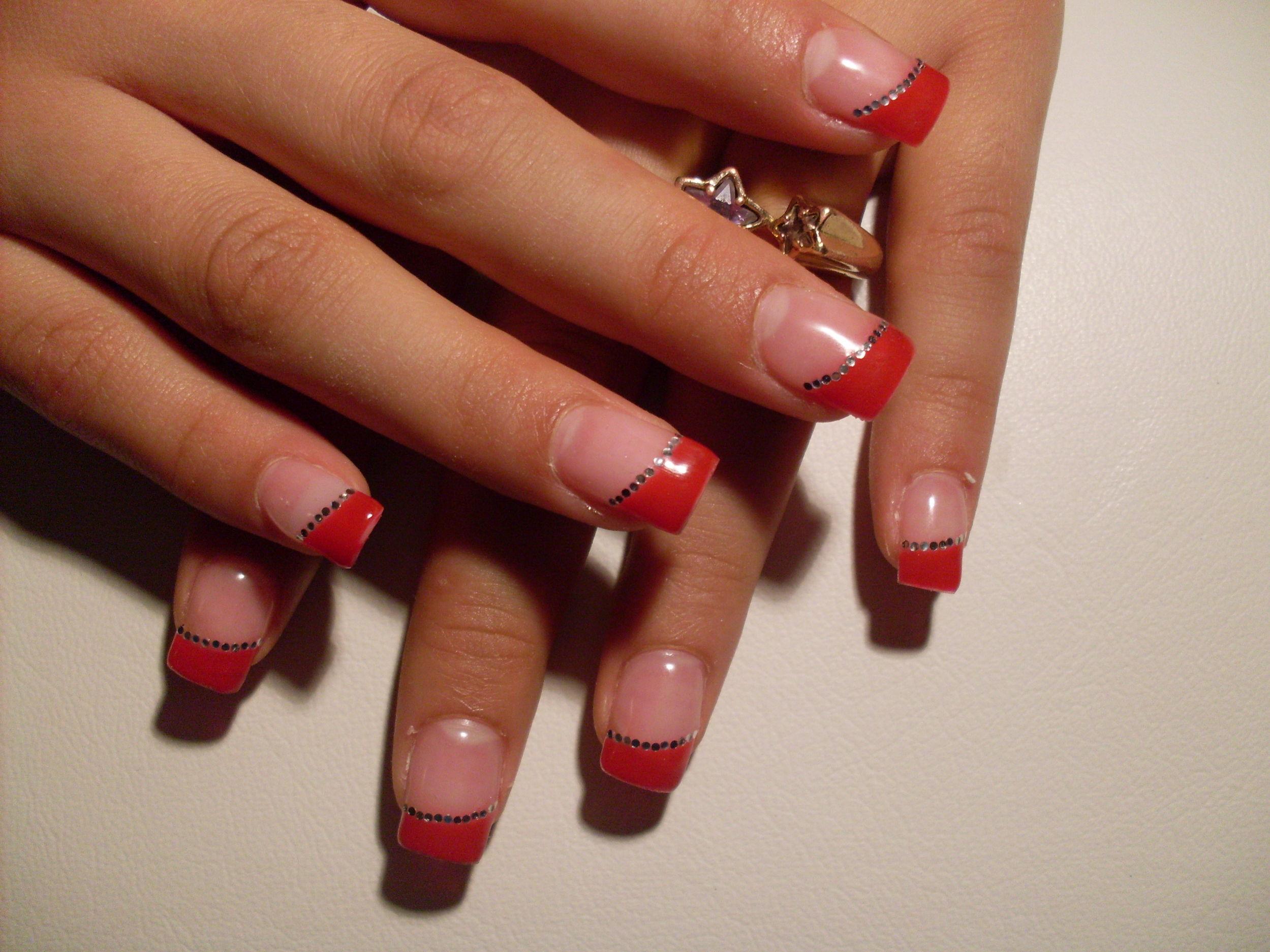 Eccezionale Nail-art Gallery | E-nail Gallery - Nail-art gallery/gel rosso con  KK78